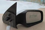Для Опель-Астра (1998-2005) - зеркало заднего вида,  б/у,  целое